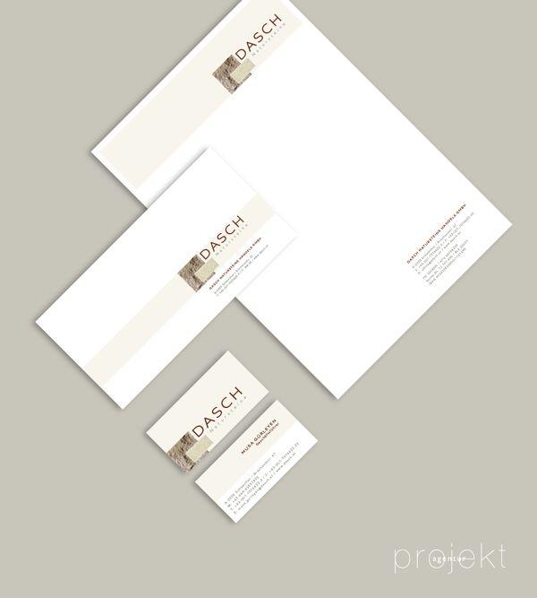 Agency: Projektagentur Weixelbaumer, Linz, Austria, Client: DASCH Natursteine, Project: corporate design