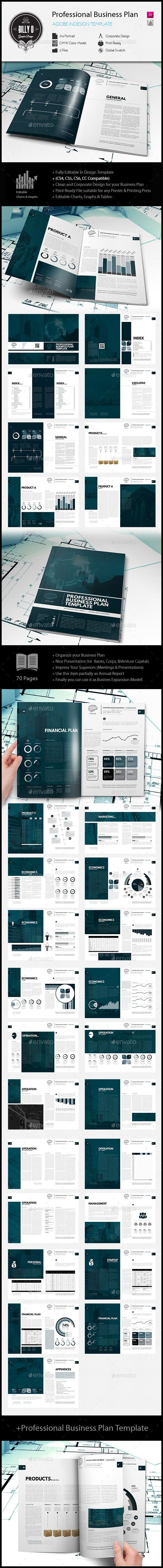 Professional Business Plan Template - Miscellaneous Print Templates
