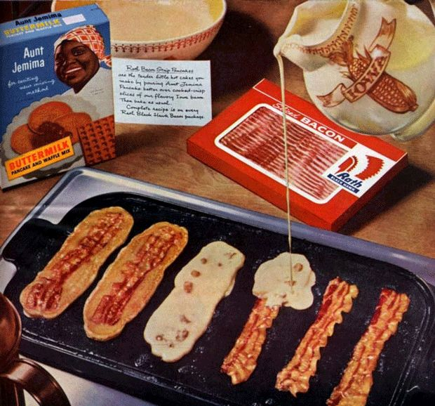 Bacon strip pancakes recipe: How to make inside out American crepes - Recipes - Food & Drink - The Independent
