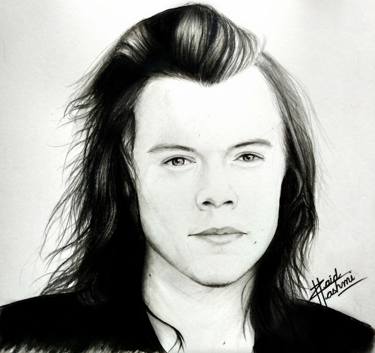 Look I sketched #HarryStyles #art #drawing