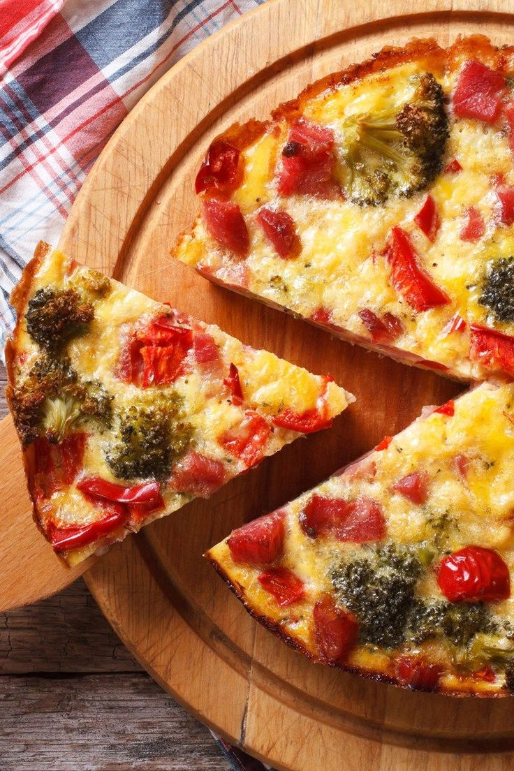 Broccoli Quiche (Weight Watchers)