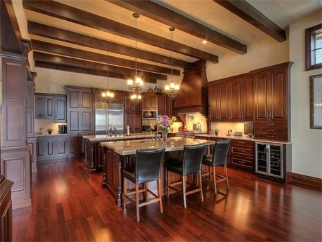 Cherry kitchen. West Kelowna, BC: Houses Ideas Dreamin, Fine Cabinetry Traditional, West Kelowna, Syberg Design, Cherries Kitchens, Design Fine