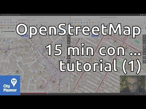 Primi passi con OpenStreetMap e l'editor ID - YouTube