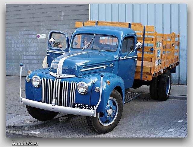 Ford 598T 1945 Pickup classic americana