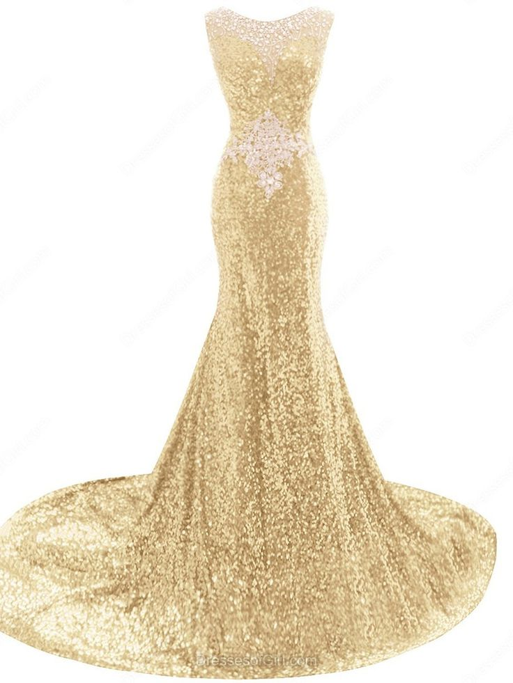 Scoop Neck Black Tulle Sequined Court Train Crystal Detailing Trumpet/Mermaid Prom Dress