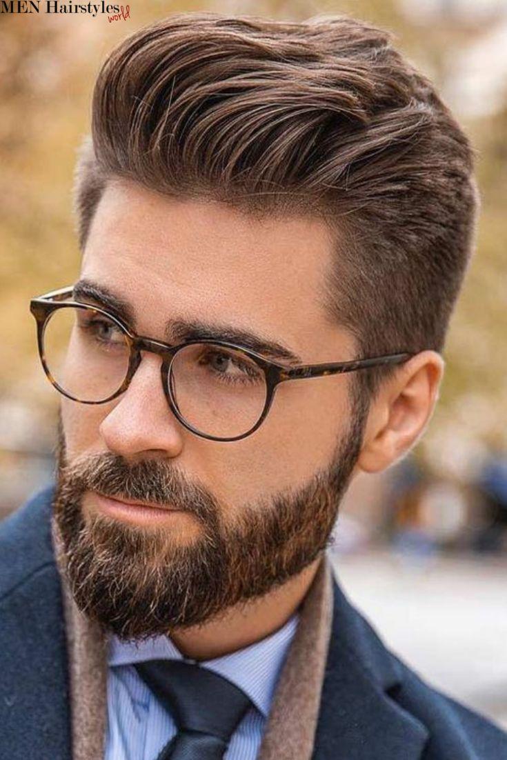 É fácil entender por que os cortes de cabelo curtos para homens são sem dúvida os mais difíceis …   – Best Men Hairstyles To Wear With Glasses