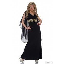 Rochie de seara eleganta lunga Egyptian Secrets Black