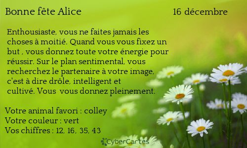 Alice http://www.prenoms.com/v2/services-prenom/signification-prenom.asp ♥ Voyance Privée au 04.93.44.68.72 www.chantalemedium.com Avec le médium de votre choix au 01.72.76.09.38 (Offre Spéciale 10€/10min) FORUM VOYANCE GRATUITE  08.99.19.97.19   Audiotel France DOM-TOM 08.92.68.23.88  http://www.chantalemedium.com/horoscope/  Vos chiffres de chance http://www.chantalemedium.com/horoscope-du-mois-et-num%C3%A9ros-de-chance/ Facebook PRO Chantale Pure Médium Azur Astro Voyance Conseils…