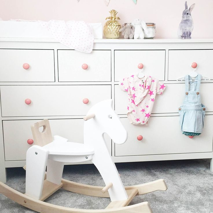 Rocking horse of dreams in the Nursery