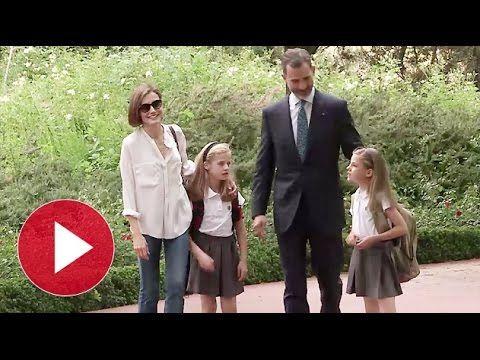▶ Lo nunca visto de Felipe VI y Letizia Ortiz - YouTube