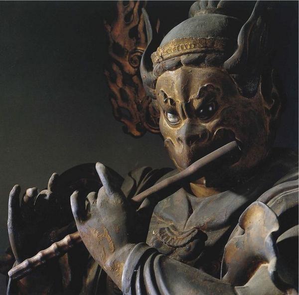 迦楼羅王(三十三間堂)Garuda [ Sanjūsangen-dō ] Around 1300?
