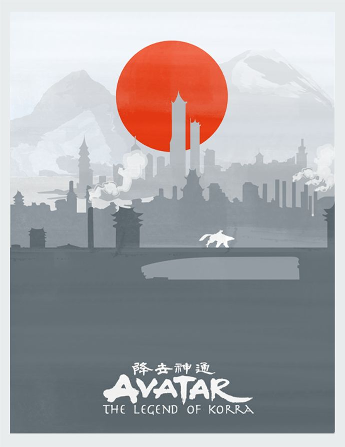Avatar: The Legend of Korra Poster