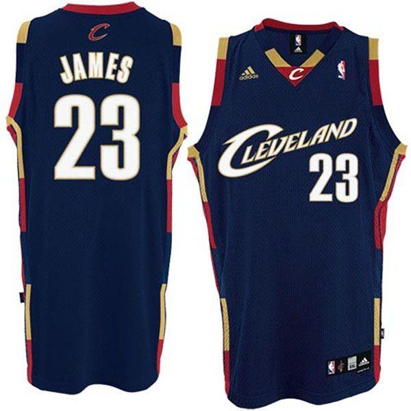 LeBron James Cleveland #23 Soul Swingman Blue Jersey