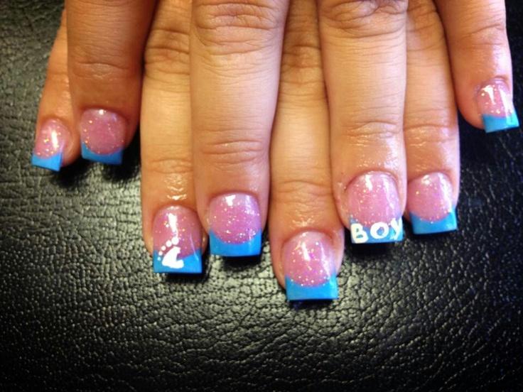 baby shower nails nail art pinterest babies baby shower nails