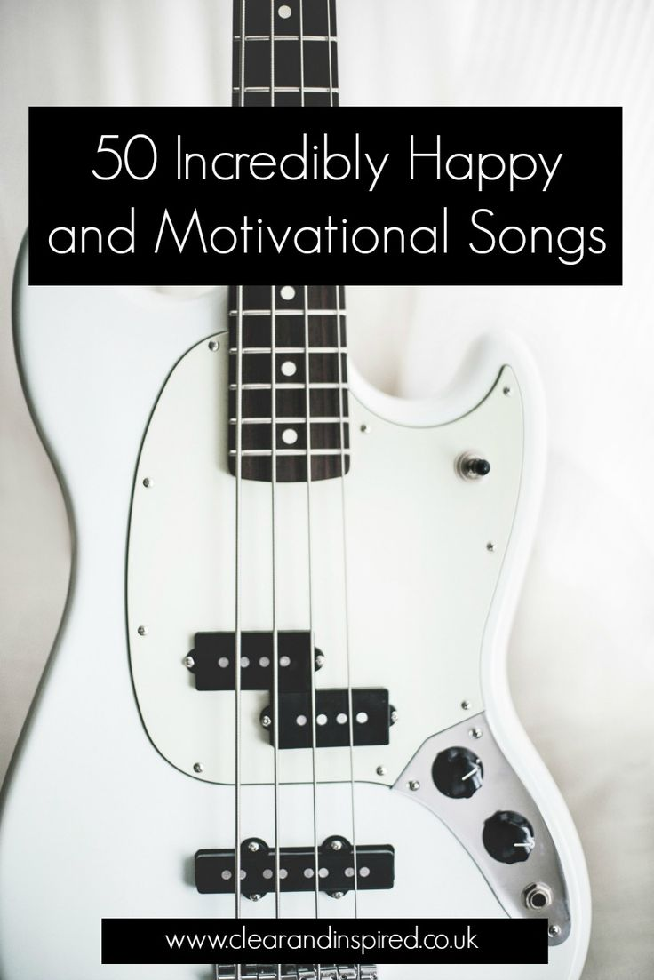 Soundtrack to a happy life - happy songs to make you smile and motivational songs to get you going. Including a link to this happy playlist on Spotify A thrifty route to happiness indeed you cant beat music to lift your spirits
