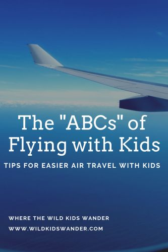 Tips and activity ideas to make air travel with kids easier for everyone. – Wher…