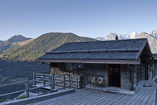 déco montagne bois brut et mobilier vintage déco montagne bois brut ...