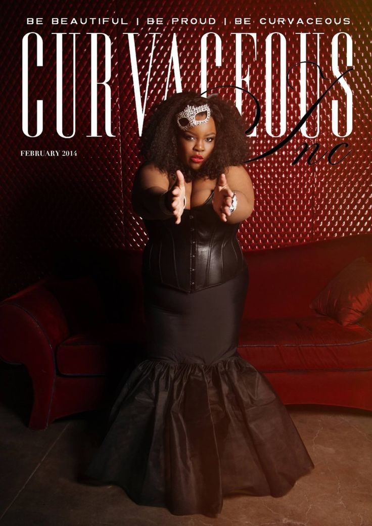 Chenese Lewis for Curvaceous Inc February Cover 8 curvy girl mags I should be reading !