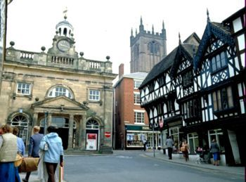 Ludlow, Shropshire -- One of the prettiest villages in England