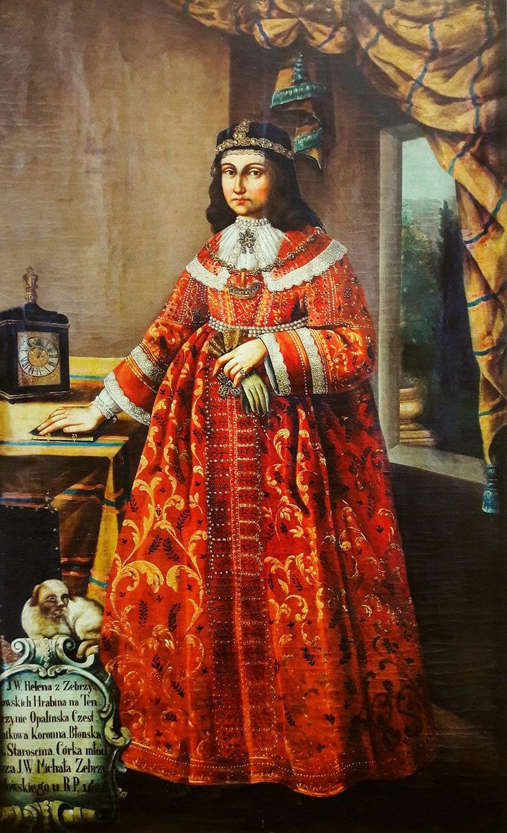 Anonymous Portrait of Helena Opalińska