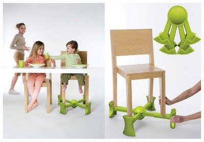 """Location rehausseur de chaise """" kaboost"""" Perpignan (66000)"""