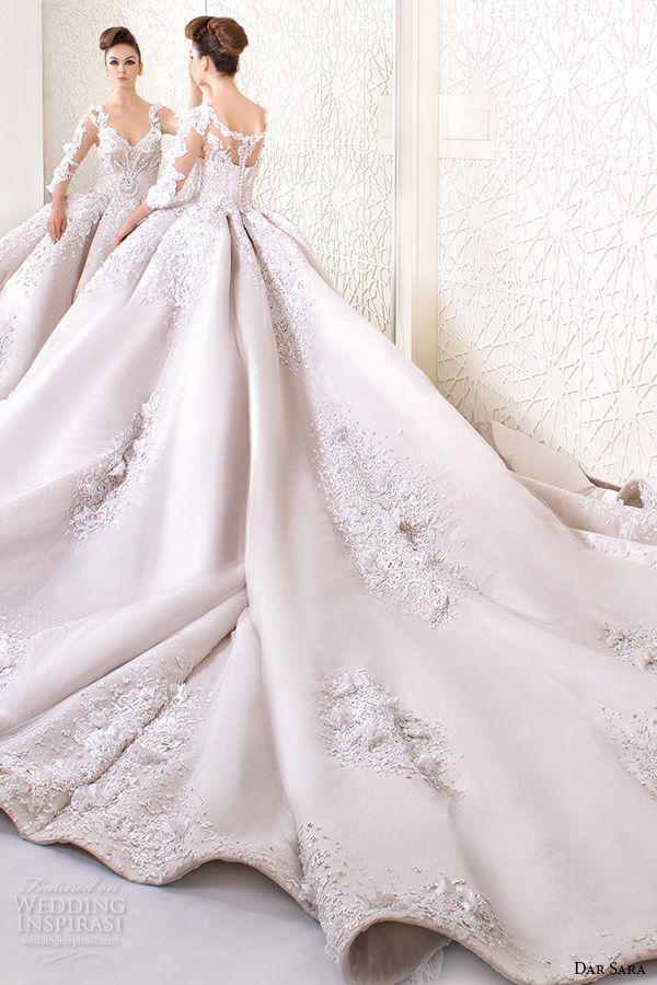 dar sara bridal 2016 wedding dresses