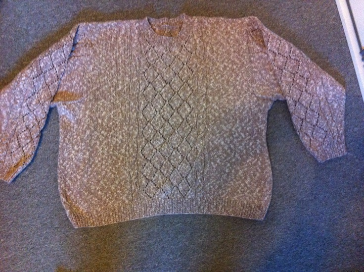 Mønster sweater