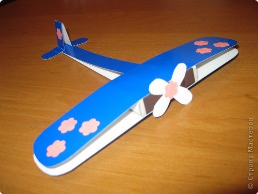 vliegtuig van papier