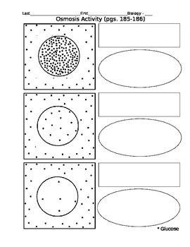Diffusion worksheet pdf
