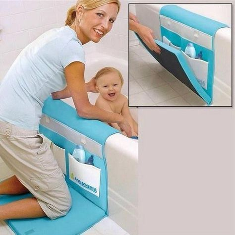 This Handy Mat Makes Bathtime A Lot Easier And Protects Your Knees