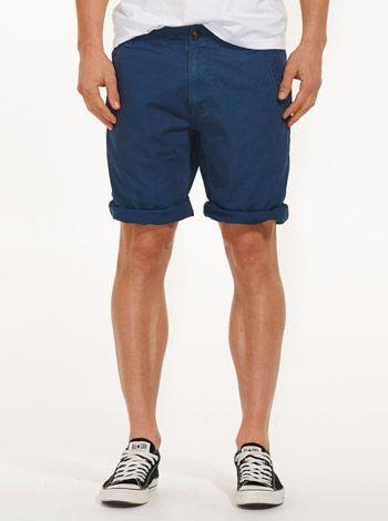 Laundered Slim Chino Short