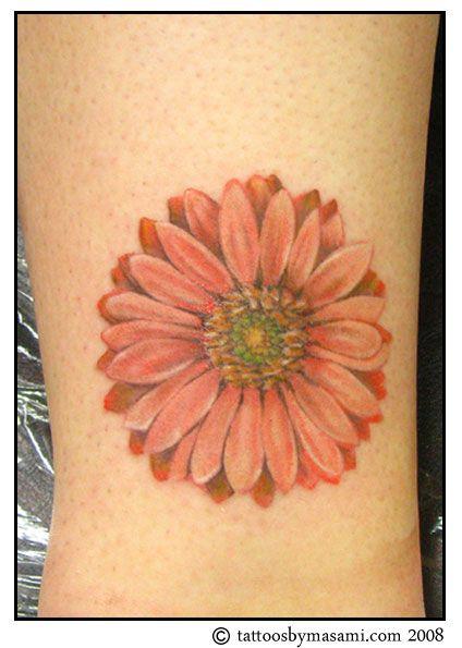 Gerber Daisy Tattoo: Gerber-daisy-tattoo-08