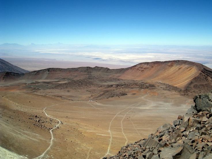 Sairecabur_Caldera - Atacama Desert