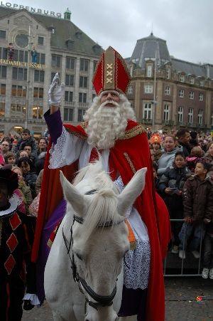 Sint Nicolaas en zijn Pieten