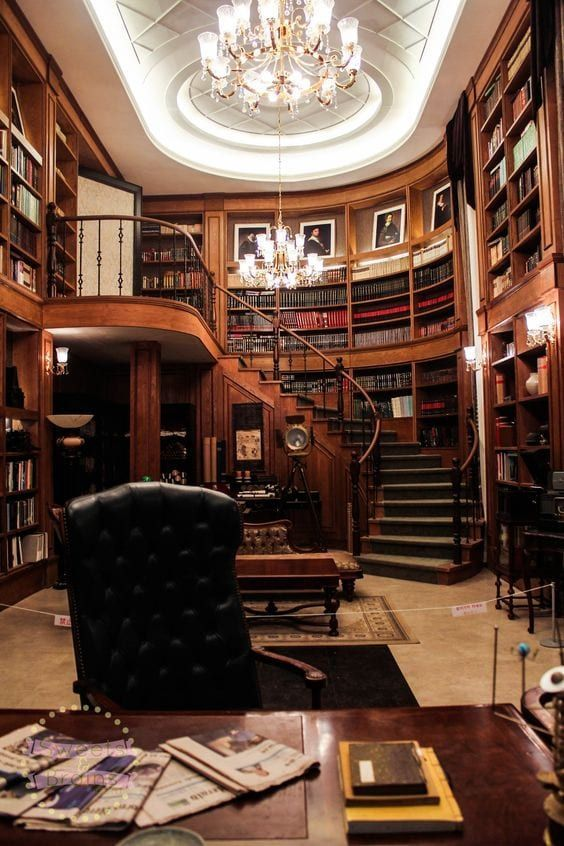 LUXURIOUS HOME OFFICES – #Home #library #LUXURIOUS #offices