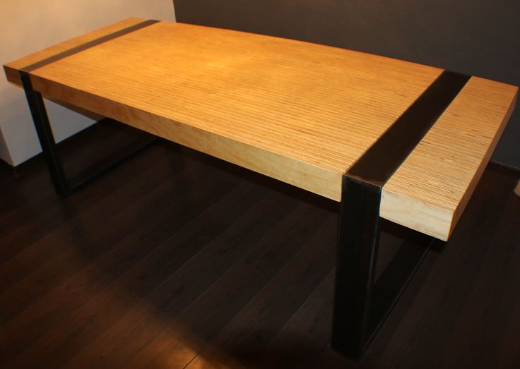 Plywood design dining table