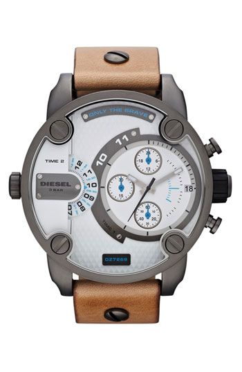 DIESEL 'Little Daddy' Men's Watch. $177. 40% off (was $295). #nordstrom #menstyle #snazzledazzle #classy #boomba