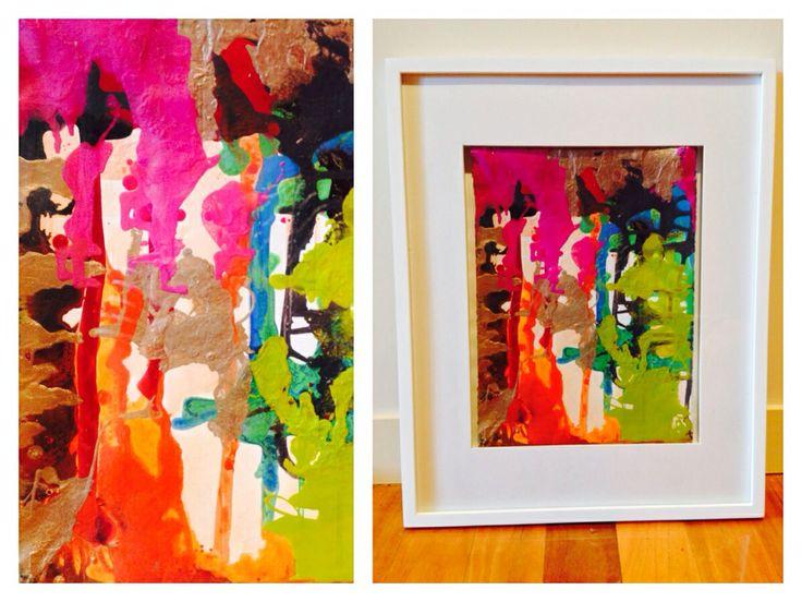 """""""Melbourne"""" - Acrylic on Canvas."""