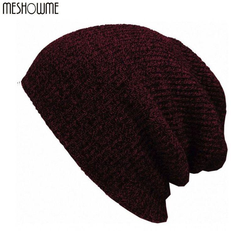Brand Bonnet Beanies Knitted Winter Caps Skullies For Women Men Warm Baggy Wool