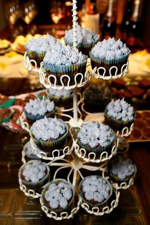 My sister, Priyas spongebob inspired cupcakes for my birthday!