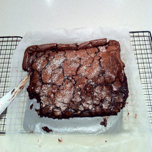 Brownie bake. | Baked Goods | Pinterest