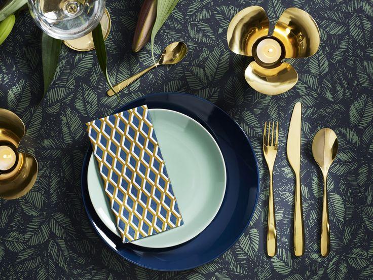 TILLAGD bestek   IKEA IKEAnl IKEAnederland nieuw inspiratie wooninspiratie interieur wooninterieur goud eyecatcher servies ontbijt lunch diner eten koken drinken mes vork lepel