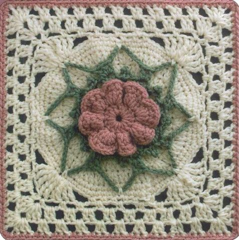 Picture of 50 Fabulous Crochet Squares