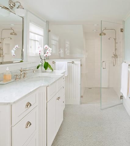 Bathroom Renovation Pics Subway Tile | Elements Of A Cape Cod Bathroom  Design For A Luxurious