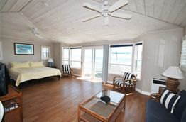 san diego: beach cottages on crystal pier. watching the ocean from your bed? sure!