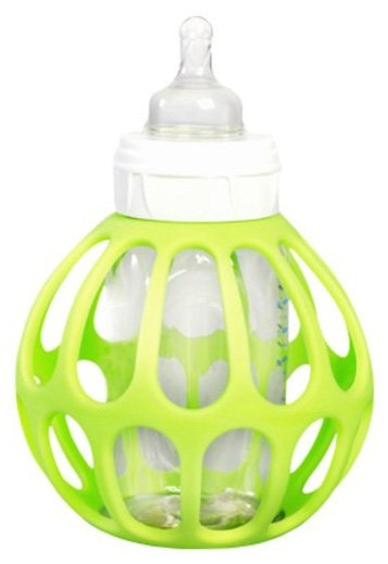 Ba Baby Bottle Holder -- excellent for glass bottles that get very warm when heated
