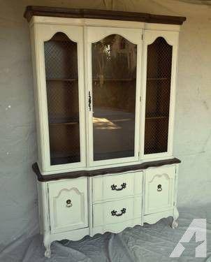 French Provincial China Cabinet | BEAUTIFUL FRENCH PROVINCIAL CHINA CABINET for sale in Weatherford ...