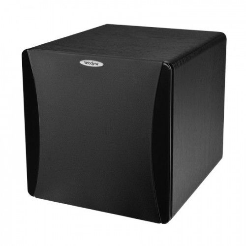 SUBWOOFER VELODYNE IMPACT 10. With its 250 Watts of amplifier power generating bass in the 32 Hz to 140 Hz spectrum, you get powerful output even in our entry-level subwoofer. Using the adjustable low-pass crossover frequency feature, you can blend the Impact-10 with your home theater satellites, gaming system or music speakers. The Impact-10's attractive black ash wood grain colored cabinet with black gloss trim complements your decor. #Subwoofer #Velodyne #Ofertas