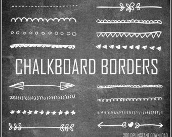 free chalkboard dingbats - Google Search