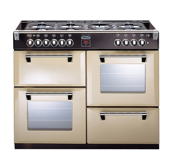 Richmond 1000GT Gas Range Cooker - Champagne